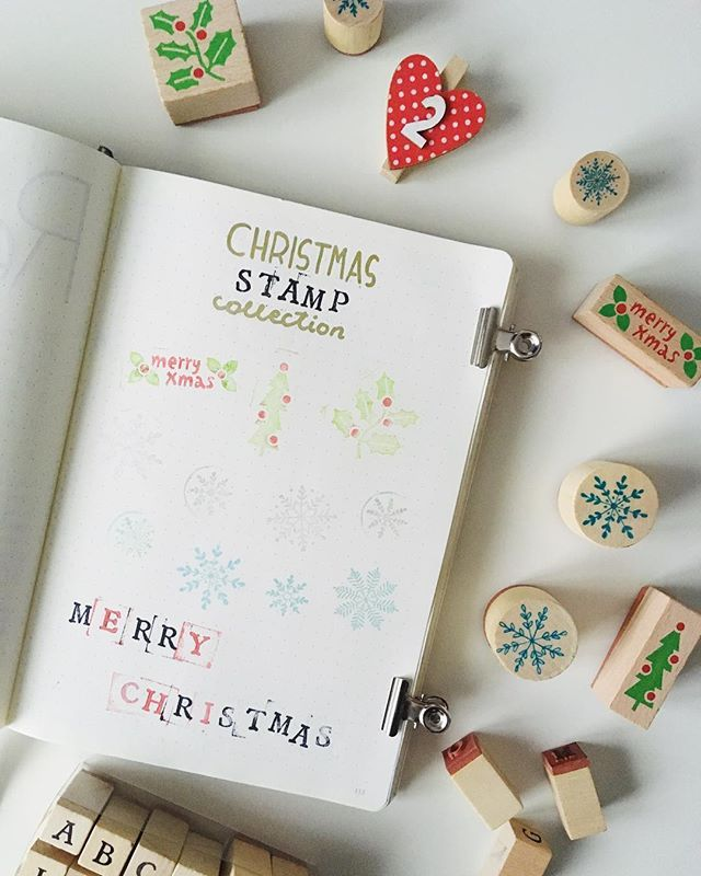 Do you guys have any Christmas stationery guys? Because well... I think I might got a bit crazy this year... so I made all my stamps collection page. My favorite are definitely snowflakes!  #bujo #bulletjournal #bulletjournaling #bulletjournallove #bujoideas #bujomonthly #bujojunkies #bujosetup #bujoinspo #december #winter #christmas #gold #golden #blue #silver #decemberspread #decemberbujo #christmasbujo #stationery #month #spread #minimal #simple #planner #itsthemostwonderfultime…