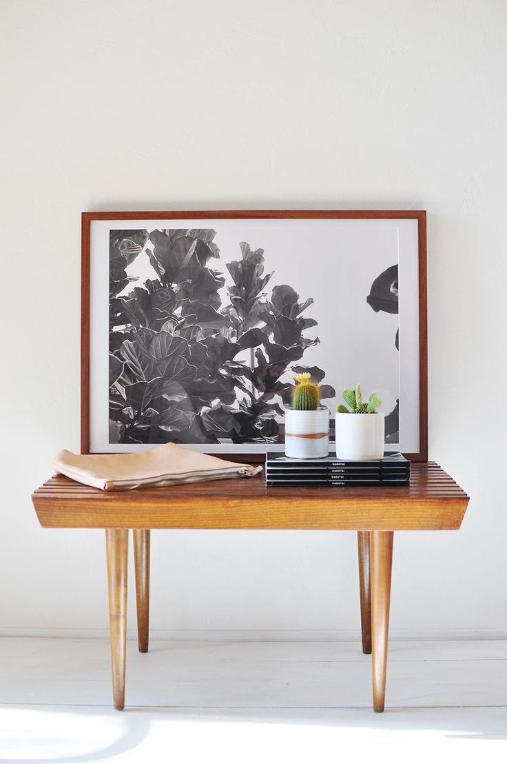 Fine Life Co Fiddle Leaf Print Walls Home Decor
