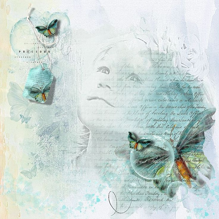BUTTERFLY.....SO PRECIOUS ARTWORK ©AngeBrands...All rights reserved  Credits Scrapkits by Lynne Anzelc Designs  Wordart Precious... Vinnie Pearce Design Photo Frosted Productions ... Used with Permission