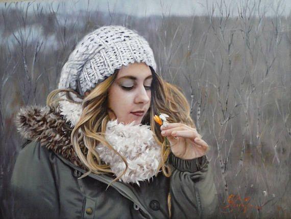Custom Woman portrait Portrait Painting oil painting