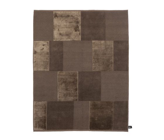 Casellario Monocromo brown by cc-tapis   Rugs / Designer rugs