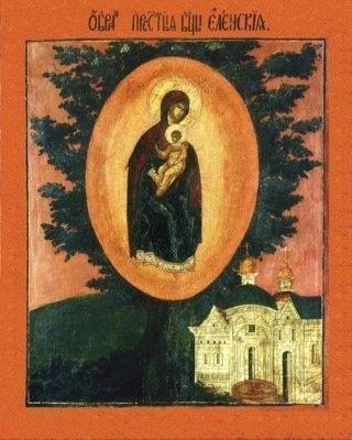 Елецкая (Черниговская) икона Божией Матери