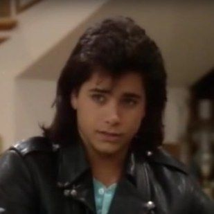 "John Stamos as Uncle Jesse in his first and last episodes… | The Cast Of ""Full House"" In Their First Episode, Last Episode, And Now"