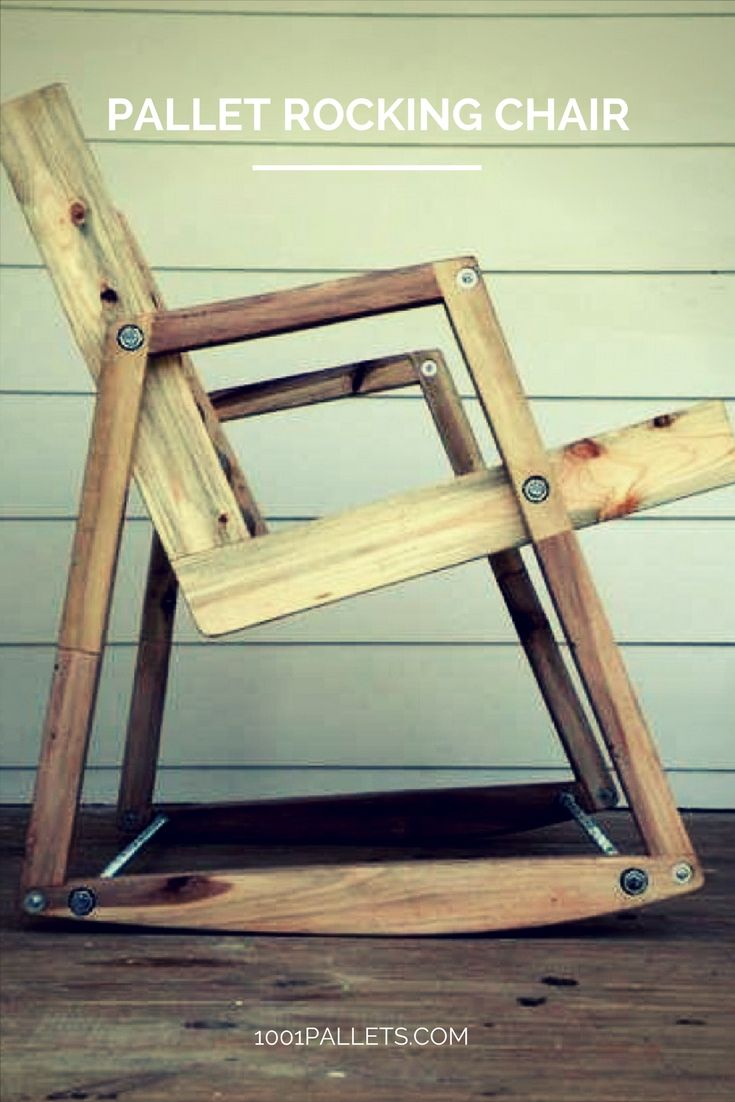 Pallet Rocking Chair • 1001 Pallets