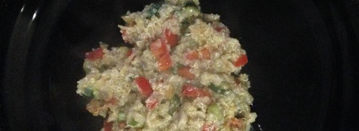 Ricetta Quinoa Tricolore Zucchine Funghi Peperone Rosso Rewind Paolo Nutini https://pentagrammidifarina.wordpress.com/