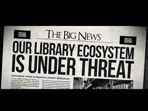A great advocacy video promoting the importance of all libraries for communities.