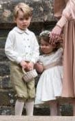 Prince George & Princess Charlotte, were very much the centre of attention during the festivities | Pippa Middleton's wedding to James Matthews in pictures: All the celebrities & royal guests including Kate Middleton & Roger Federer - News
