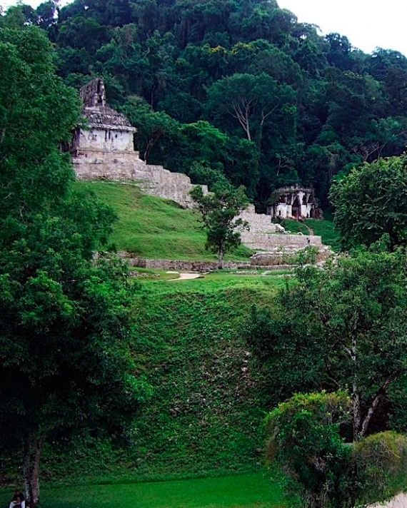 16 Martha Editors Pick Their Most Romantic Places in the World - Palenque Ruins, Chiapas, Mexico