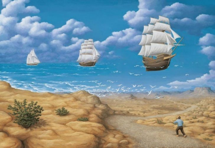 rob gonsalves, in search of sea,