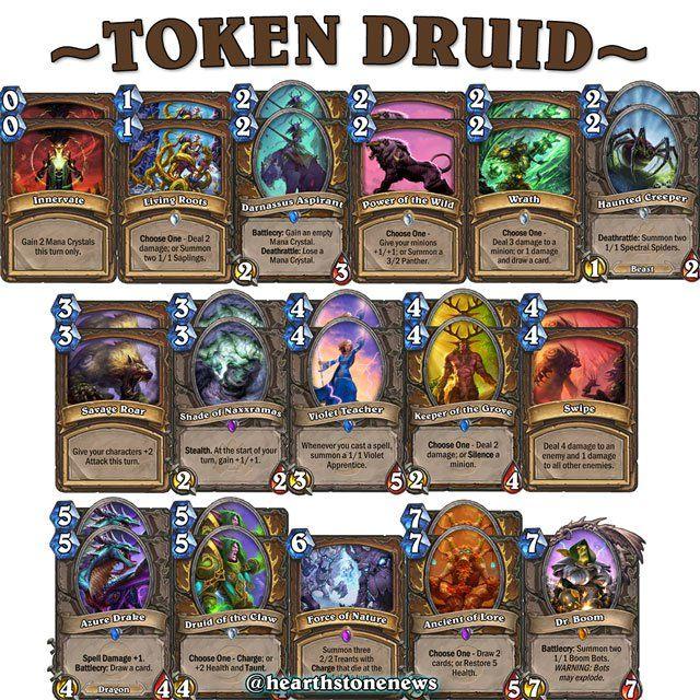 hearthstone deck druid token