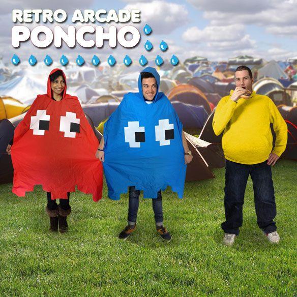 Retro Arcade Poncho