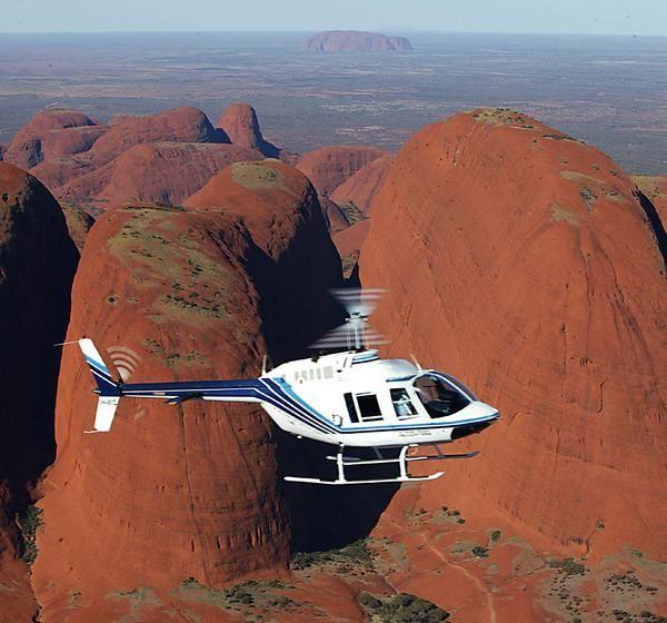 Helicopter Scenic Flight (55min incl Ayers Rock), Uluru - NT