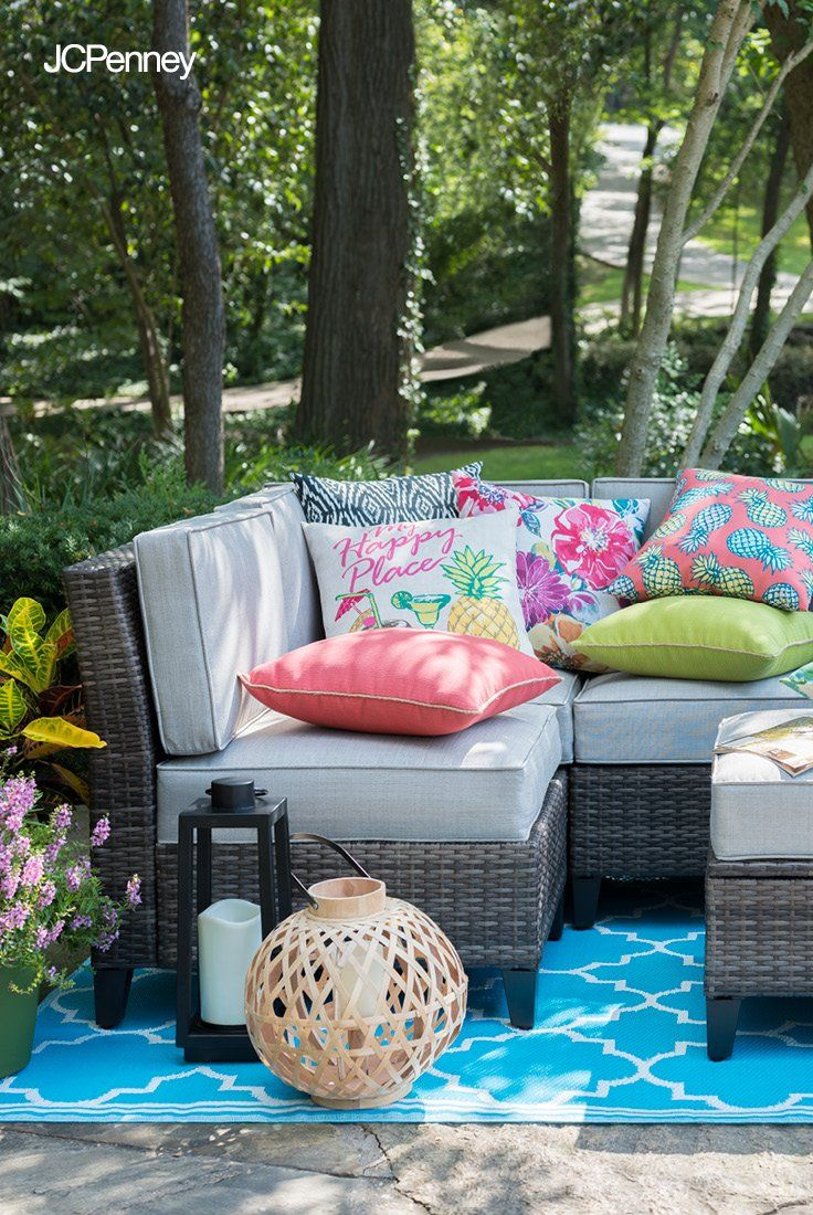 Invite Friends Family And Neighborhood Guests Over For A Springtime Outdoor Party With This Beautiful O Patio Furniture Sets Patio Inspiration Patio Furniture