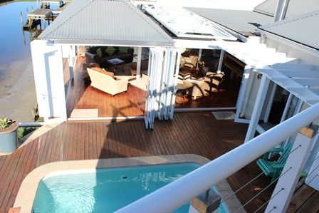 Marine living - www.earp.co.za #woodendeck