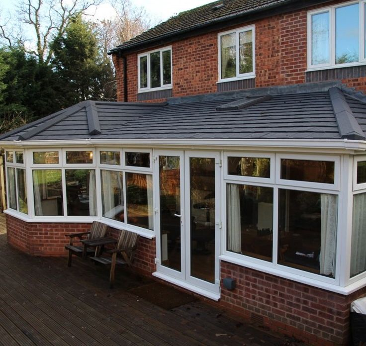 Tiled Conservatory Roofs | Rooflite Insulated Conservatory Roofs | EYG