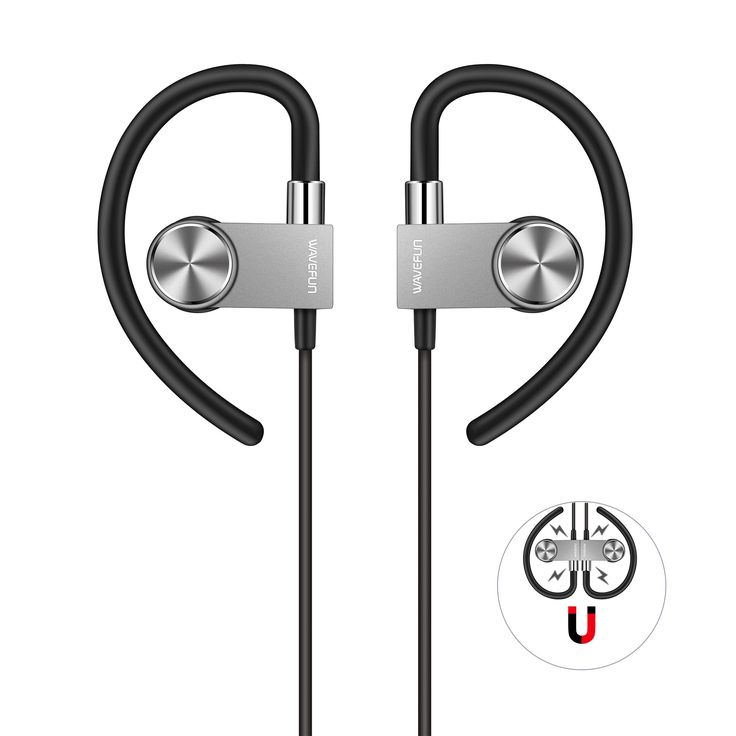 Bluetooth Headphones, Wavefun Wireless 4.1 Magnetic Earbuds aptX Stereo Earphones with Mic Bluetooth Headset CVC 6.0 Noise isolation for iphone 8 iphone 8plus iphone X Sumsung Note 8 etc. ✓ CRYSTAL HD SOUND: CSR8645 CHIP with APT-X and Bluetooth 4.1 headphones submerge yourself in the amazing world of perfect crystal HD music and powerful bass. With CVC 6.0 Noise isolation and newest top quality audio technology you can make clear conversation anywhere and anytime. ✓ SUPER COMFORTABLE AND...