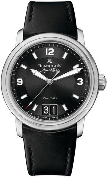 Blancpain Leman AquaLung Ref 2850B-1130A-64B