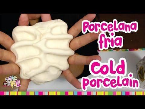 How to make COLD PORCELAIN / Como hacer PORCELANA FRIA (Resistente y Mejorada) - YouTube