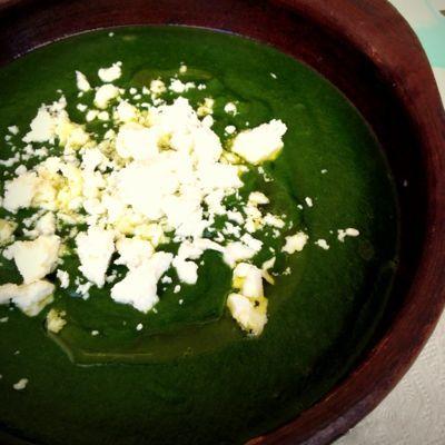 Cocina de Estación: Sopa de espinaca