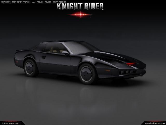 Knight Rider Kitt Modelo 3d Max C4d Obj 3ds Fbx Lwo Stl 3dexport Com By Deniz El Coche Fantastico Fotos De Autos Deportivos Coches Chulos