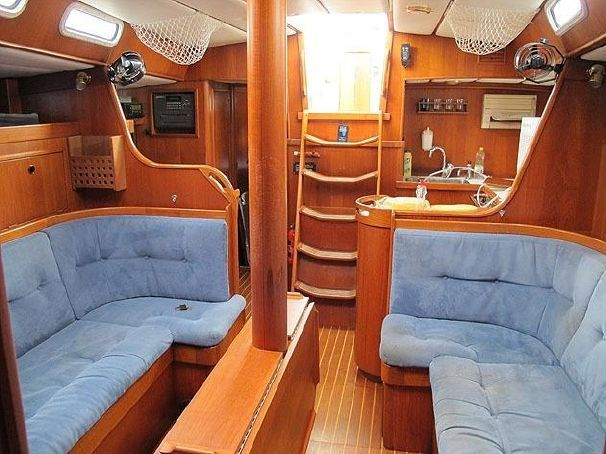 190 best Sailboat interiors images on Pinterest | Sailboat ...
