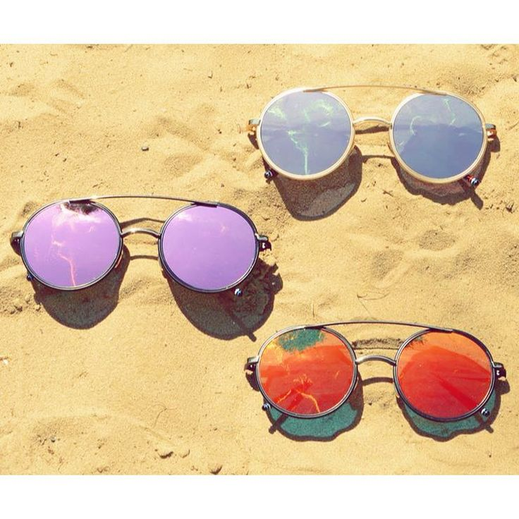 Perfect accessories for every occasion.  Lennon inspired colourful sunglasses from Szputnyik shop (Budapest)