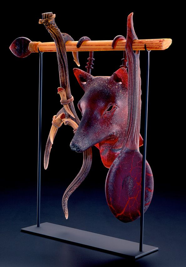 Artist Selections - William Morris | Glass Artist Suspended artifact