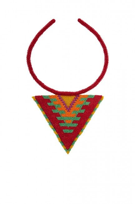 Red Triune Necklace