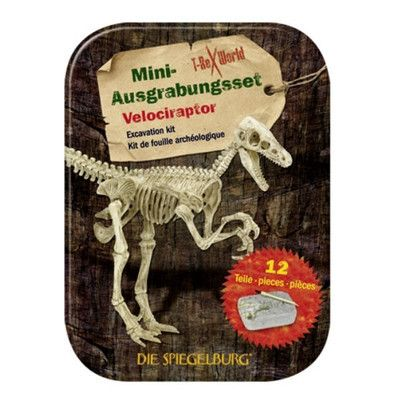 Mini Excavation Kit The perfect little gift for budding explorers and junior paleontologists!  Excavate the skeleton and then assemble into a complete dinosaur skeleton.