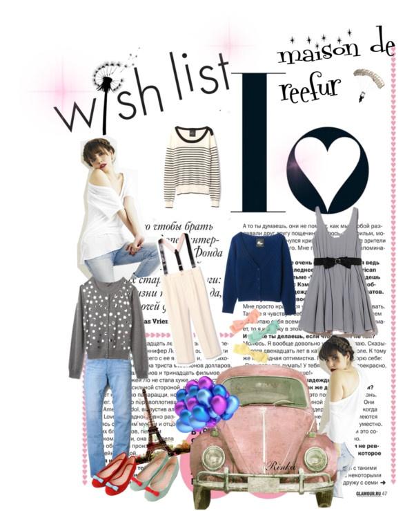 """wish list maison de reefur"" by petitbeauty ❤ liked on Polyvore"