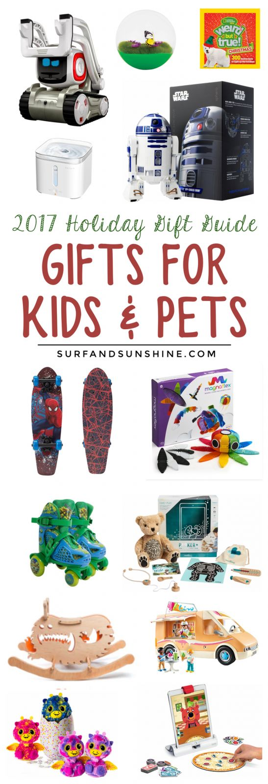 Holiday Gift Guide 2017: Gifts For Kids and Pets via @jeanabeena