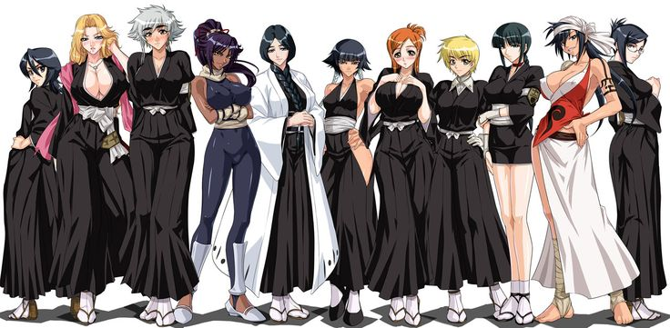 bleach female characters bleach pinterest lady