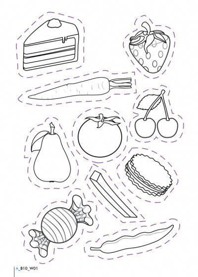 Healthy And Unhealthy Foods Worksheet #