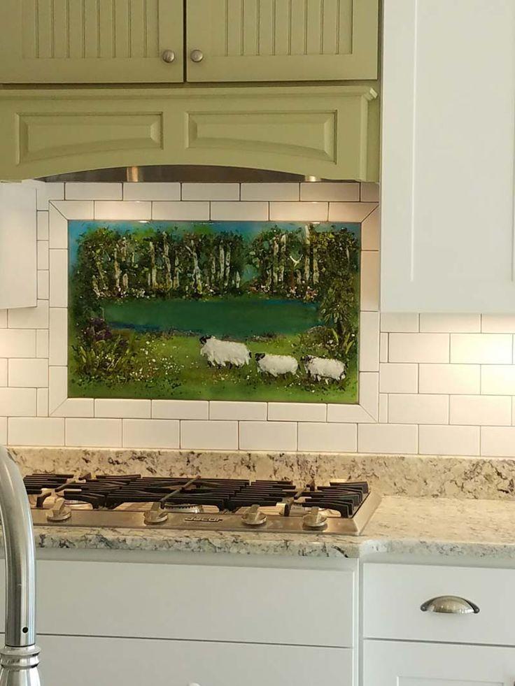 140 best designer glass mosaics images on pinterest