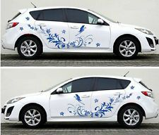 Butterflies Pattern Design CAR VINYL SIDE GRAPHICS DECALS N - Vinyl transfers for cars