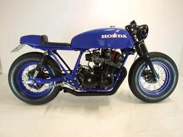 Honda CB750F Cafe Racer 1982 von Westland Customs #Motorräder #Caferacer #Motos…