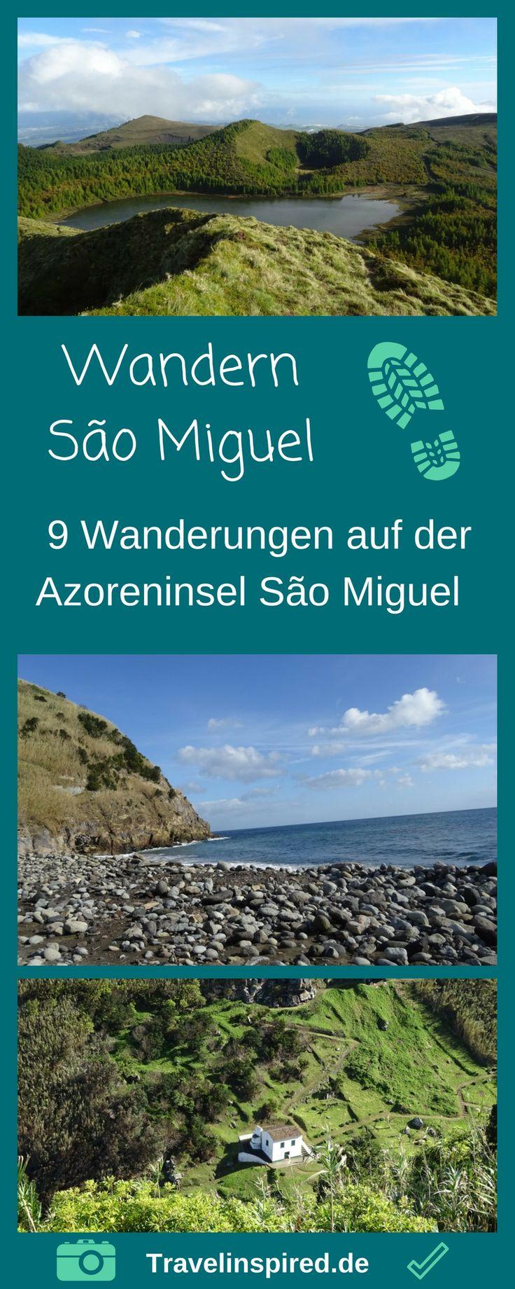 Wanderparadies Azoren: Wir stellen dir 9 wunderschöne Wanderungen auf Sao Miguel vor. #saomiguel #wandern #azoren #portugal #travelinspired #wanderrouten #wanderung #lombadas #saltodafarinhas #lagoadasfurnas #capelas #furnas #reisetippswandern #portoformoso #chagorreana