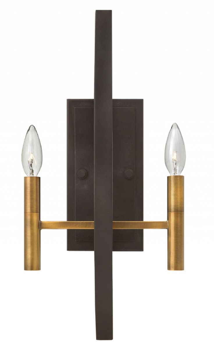 Check out the huge savings on New Hinkley Euclid Wall Sconce Spanish Bronze  at LampsUSA!
