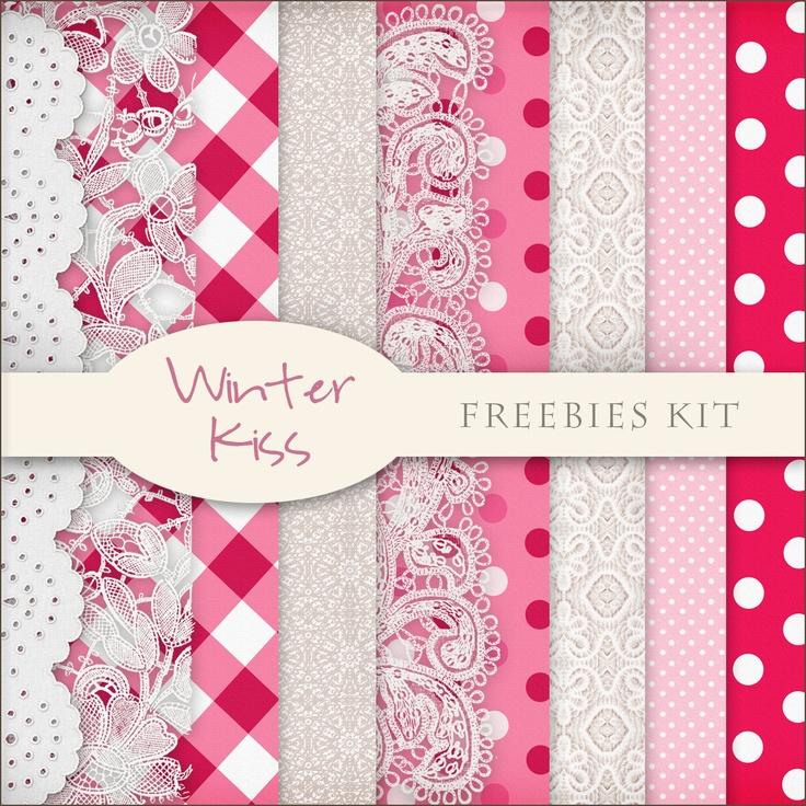 Scrap. DOT: Freebies Winter Backgrounds