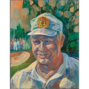 Jack Nicklaus by Russell Hoban at National Portrait Gallery