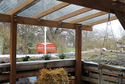 covered deck roof