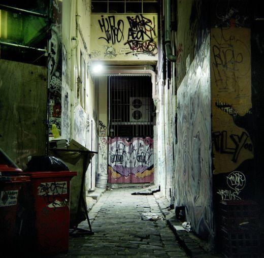 Abandoned alley, Melbourne
