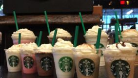 Oh gross... Starbucks' New Frappuccino Flavors Are Mostly Sugar, 100+ grams!