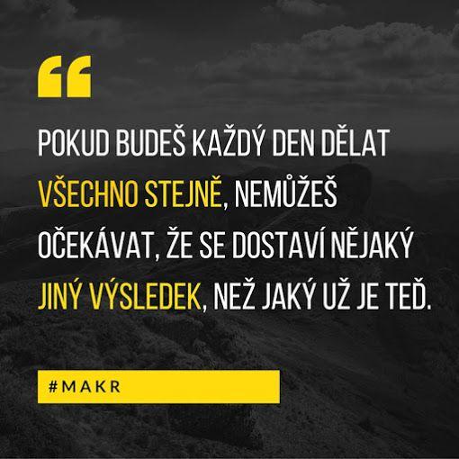 #MAKR jiný výsledek - motivace