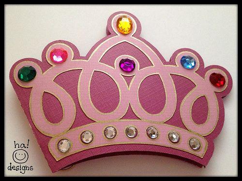 Pop-Up Birthday Princess Card AND Crown