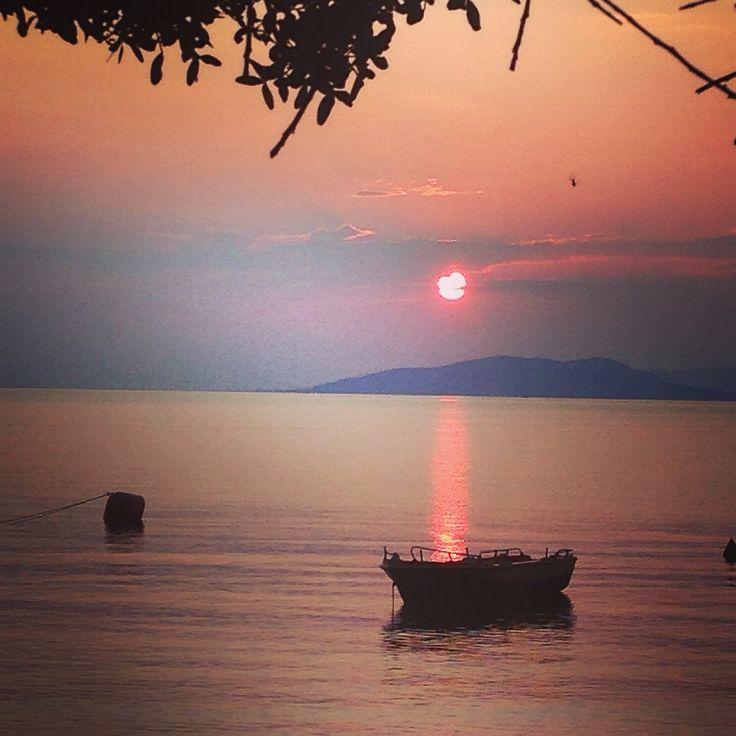 Sunrise in Epidavros