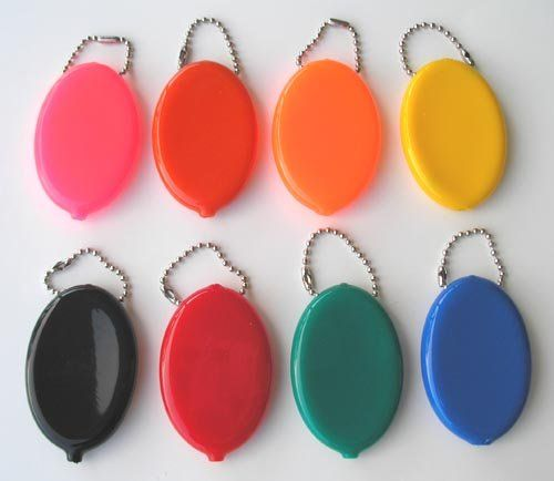Rubber squeeze purses - these have Grandma written all over them.