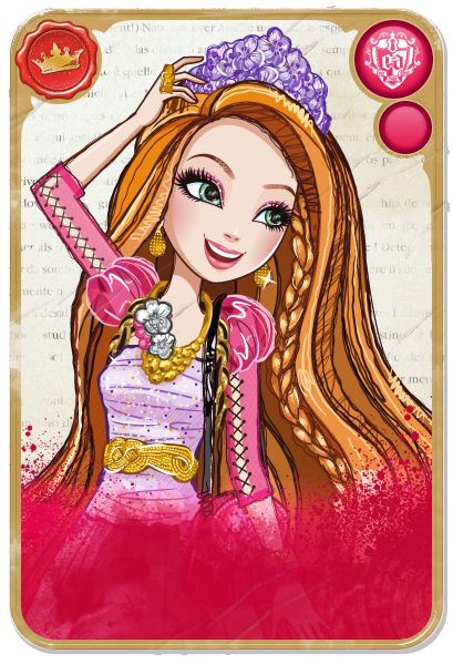 Holly O'Hair™ :: Daughter of Rapunzel, younger twin sister of Poppy O'Hair - poem