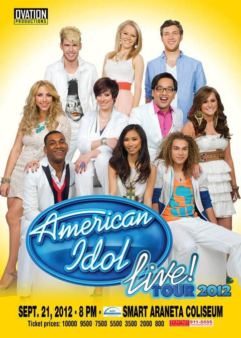 American Idol Season 11 Live in Manila 2012 - I want to go!