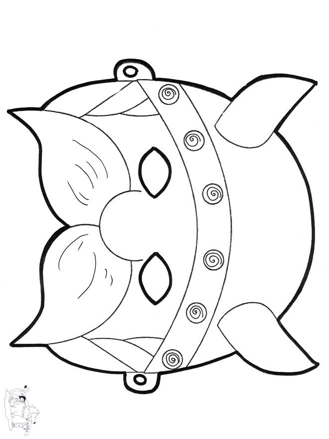 cat eye coloring pages - photo#41